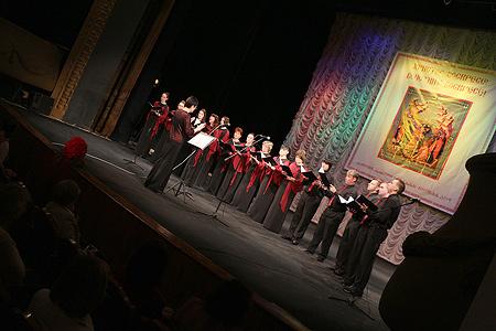 На сцене театра «Свободное пространство» открылся III Областной Пасхальный фестиваль