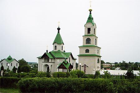 Свято-Никольский храм п. Хотынец