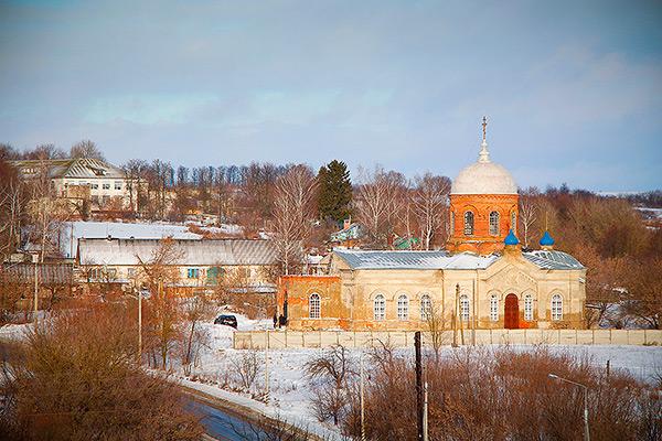 Никольский храм с. Бакланово
