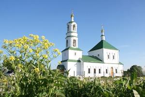 В день Пятидесятницы архиепископ Пантелеимон совершил литургию в Троицком храме Льгова и посетил праздник в «Орловском Полесье»