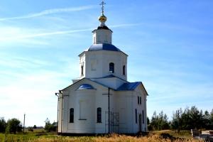 Владыка Антоний служил литургию в храме Димитрия Солунского села Желябуга
