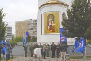 В храме-часовне Александра Невского почтили память героев-десантников