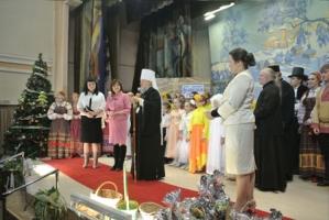 Владыка Антоний посетил рождественский концерт, подготовленный учащимися Орловской православной гимназии