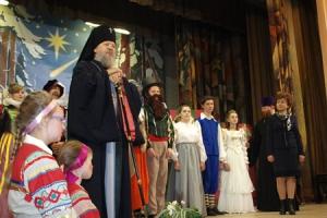 Архиепископ Антоний посетил рождественский концерт, подготовленный учащимися Орловской православной гимназии