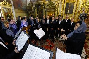 Пассия в Ахтырском кафедральном соборе. Видеозапись богослужения