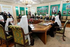 Священный Синод принял решения, связанные с Орловской епархией