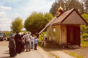 Никольская часовня в Альшани обзавелась куполом