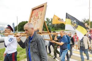 101 год памяти: крестный ход в честь святых Царственных Страстотерпцев состоялся в Орле