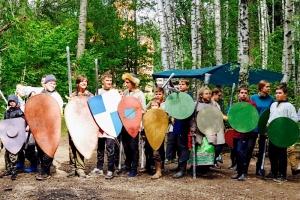 «Владимирская Русь» в лесу: уникальный палаточный слёт проходит под Мценском