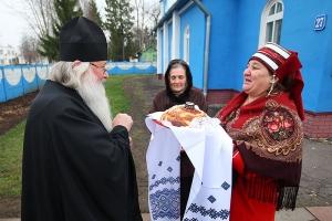 Митрополит Тихон совершил литургию в шаблыкинском храме
