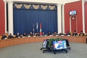 Представители духовенства Орловской митрополии приняли участие в отчетном казачьем круге