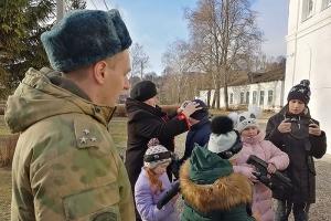 Воспитанники православной гимназии Болхова получили необычное поздравление