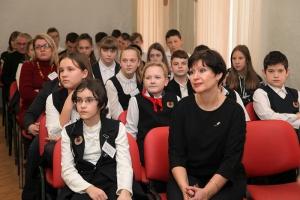 Орловский священник рассказал кадетам о духовно-нравственных ценностях