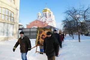 В областном центре состоится традиционный Рождественский крестный ход
