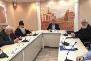 Митрополит Тихон выступил на конференции «Запад-Восток: Россия и Европа, религия и мир» в РАНХиГС
