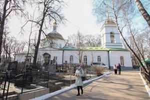 Владыка Тихон совершил литургию в Иоанно-Крестительском храме