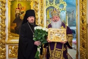 Орловская митрополия поздравила Владыку Тихона с Днем рождения