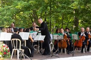 Митрополит Тихон посетил концерт Симфонического оркестра Мариинского театра