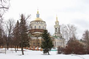 В Успенском соборе Орла молились о начале нового этапа его реставрации