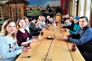 Приход храма святой Матроны Московской организовал праздник для участников молодежки
