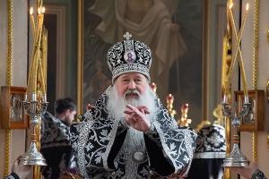Архипастырь совершил первую в 2021 году Литургию Преждеосвященных Даров