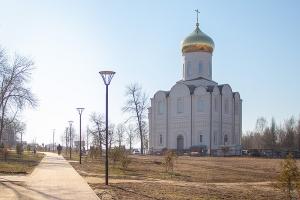 Архиерейская литургия впервые состоялась в Покровском храме Мценска