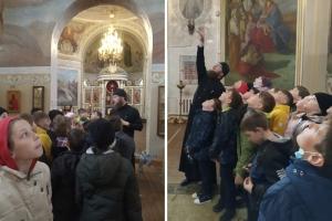 Мценские школьники узнали об устройстве храма и православном этикете