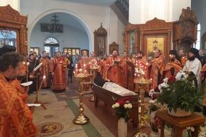Состоялось отпевание и погребение иеродиакона Силуана (Короткова)