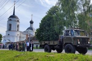 Во Мценске герой Великой Отечественной войны погребен по православному обряду