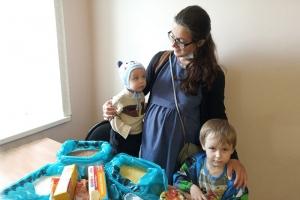 В июне более 15 орловских семей получили помощь от Центра защиты материнства и детства «Семья»