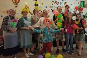 «Богоявленская семья» подарила праздник подопечным социального центра. 10 августа 2021 г.