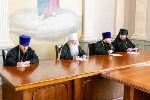 Состоялось собрание благочинных Орловской епархии