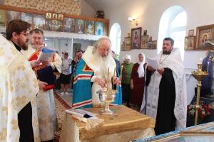 Владыка Тихон освятил храм и часовню в Шаблыкино