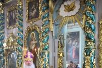 В Великий Четверток митрополит Орловский и Болховский Тихон совершил Литургию святителя Василия Великого в Николо-Песковском храме Орла. 25 апреля 2019 г.