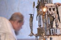 В день отдания праздника Рождества Христова митрополит Орловский и Болховский Антоний в сослужении епископа Ливенского и Малоархангельского Нектария совершил литургию в Христорождественском храме Болхова. 13 января 2019 г.