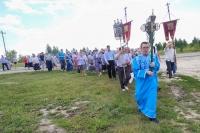 В день празднования Казанской иконе Божией Матери в Кромах состоялся крестный ход к Казанскому источнику. 21 июля 2019 г.