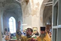 Митрополит Орловский и Болховский Тихон совершил всенощное бдение в Никольском храме с. Бакланово. 10 августа 2019 г.