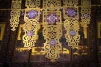 В день памяти святителя Николая Чудотворца митрополит Орловский и Болховский Тихон совершил литургию в Свято-Никольском храме пос. Кромы. 19 декабря 2019 г.