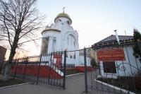 В канун Недели 4-й Великого поста митрополит Орловский и Болховский Тихон совершил всенощное бдение в храме святого Александра Невского в 909-м квартале города Орла. 28 марта 2020 г.