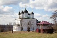 Митрополит Орловский и Болховский Тихон посетил Троицкий Оптин Рождества Богородицы женский монастырь. 4 апреля 2020 г.