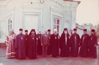7 августа 1983. С митрополитом Алексием (Ридигером) в Воскресенском соборе Брянска