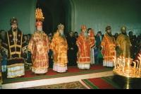 24 мая 1997. Всероссийское празднование Дней славянской письменности и культуры в Михаило-Архангельском соборе