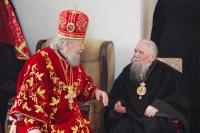 Архиепископ Паисий и схимитрополит Ювеналий (в 1984-2004 - Курский и Рыльский).