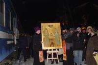15 декабря 2004. Прибытие ковчега со святыми мощами преподобномучениц Елизаветы и Инокини Варвары