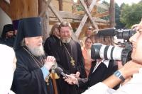 Празднование 75-летия архиепископа Паисия. 15 августа 2005.