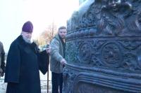 20 октября 2005. Доставка колокола в Михаилы-Архангельский собор