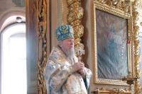 Празднование Казанской иконе Божией Матери в Ахтырском кафедральном соборе Орла. 21 июля 2006 г.