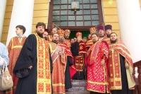 2 мая 2007 г. Принесение частицы мощей свт. Спиридона Тримифунтского в Орел.