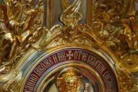 Митрополит Орловский и Болховский Тихон и митрополит Вятский и Слободской Марк совершили Литургию в Николо-Песковском (Ильинском) храме в день его престольного праздника. 2 августа 2020 г.