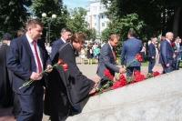 Митрополит Орловский и Болховский Тихон принял участие в торжествах в честь 77-й годовщины освобождения Орла. 5 августа 2020 г.